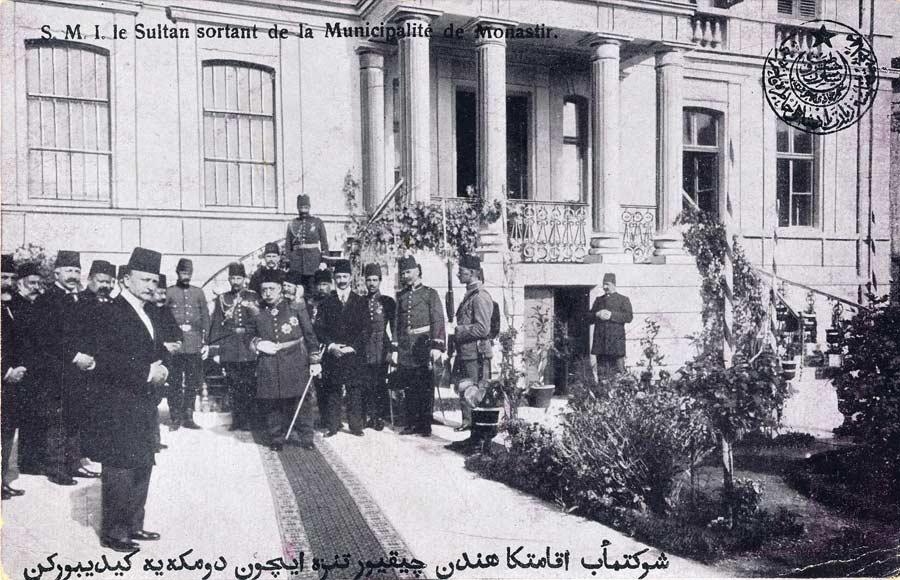 1911 – Браќа Манаки ја снимаат посетата на султанот Мехмед V Решад на Битола