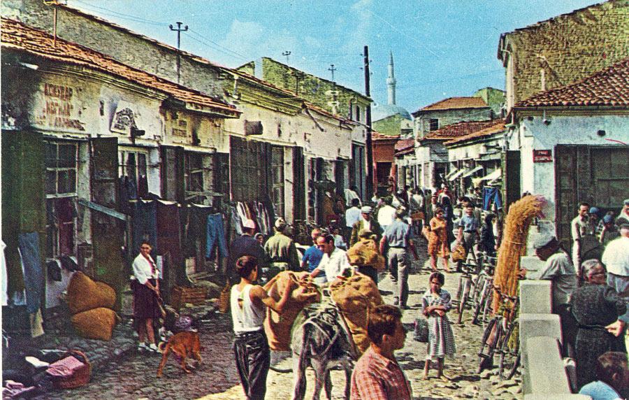 Улица во Старата чаршија во 1967 година