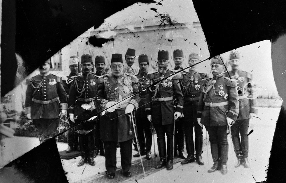 Султанот Мехмед Решад V во посета на Битола, 1911 г