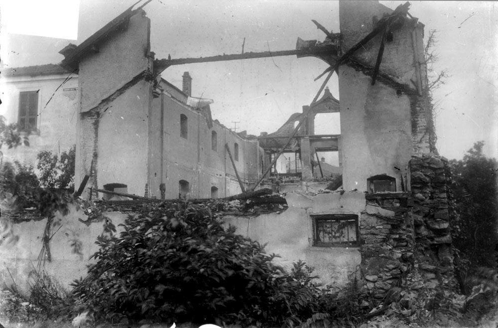 Опожарено кино Манаки, 1939 г