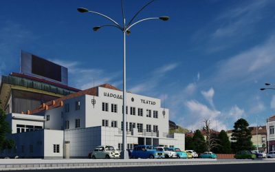 Народен театар Битола - 3Д реконструкција